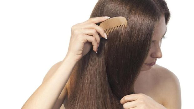 Ilustrasi rambut tebal