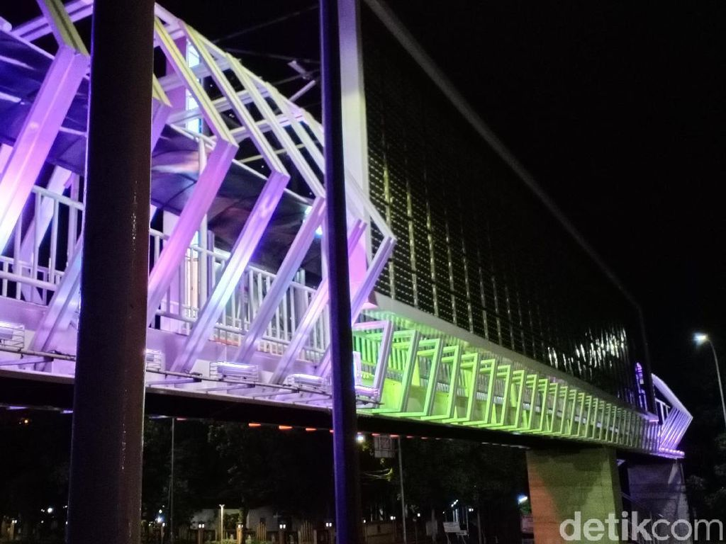 JPO Bekasi Instagenic, Gak Kalah dengan Jakarta