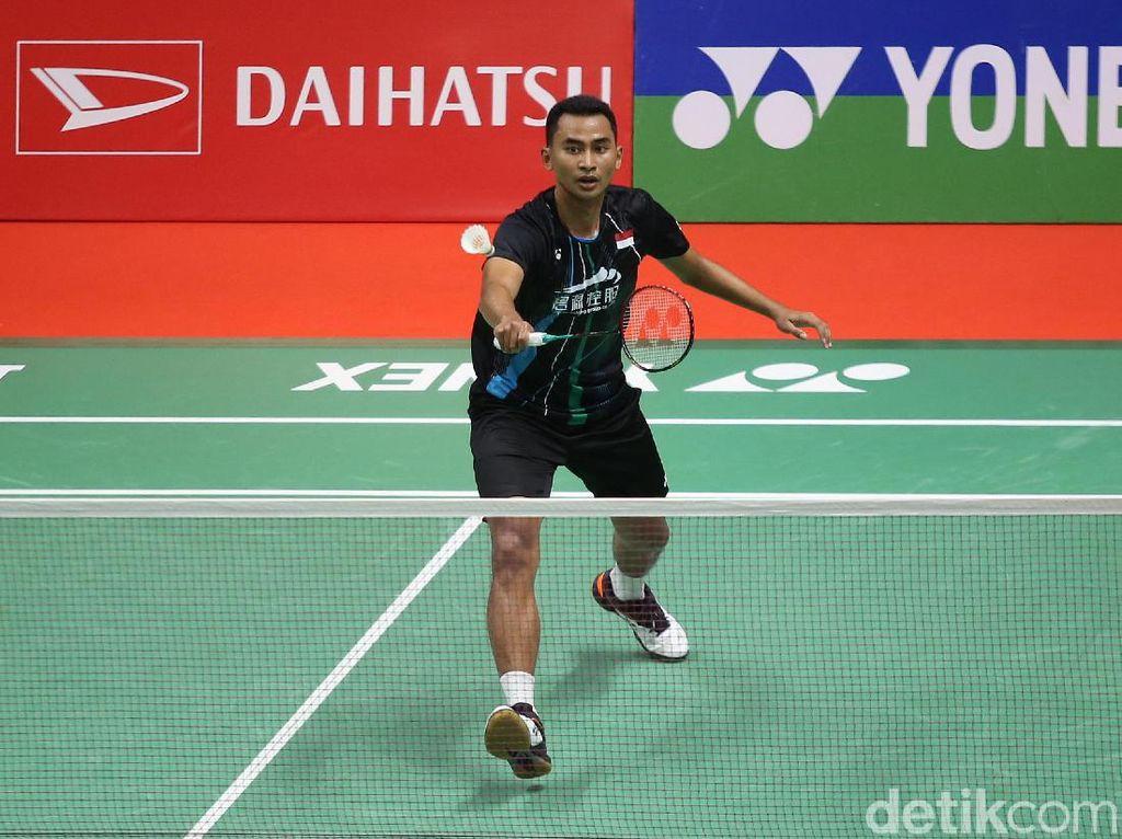 Daihatsu Indonesia Masters: Menang Rubber Game, Tommy Melaju ke Babak Kedua
