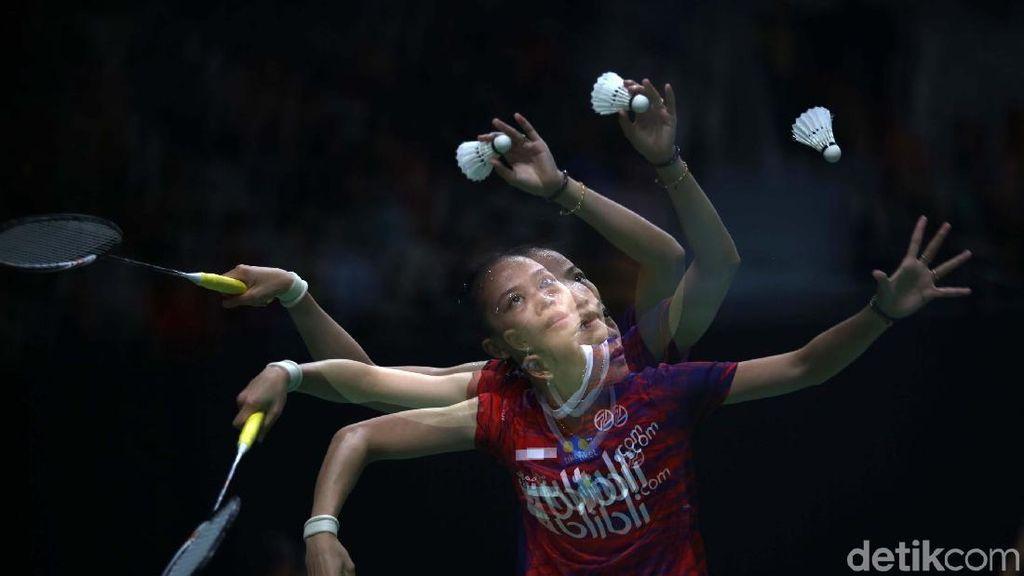 Duh! Fitriani Tersingkir di Babak Pertama Indonesia Masters 2020