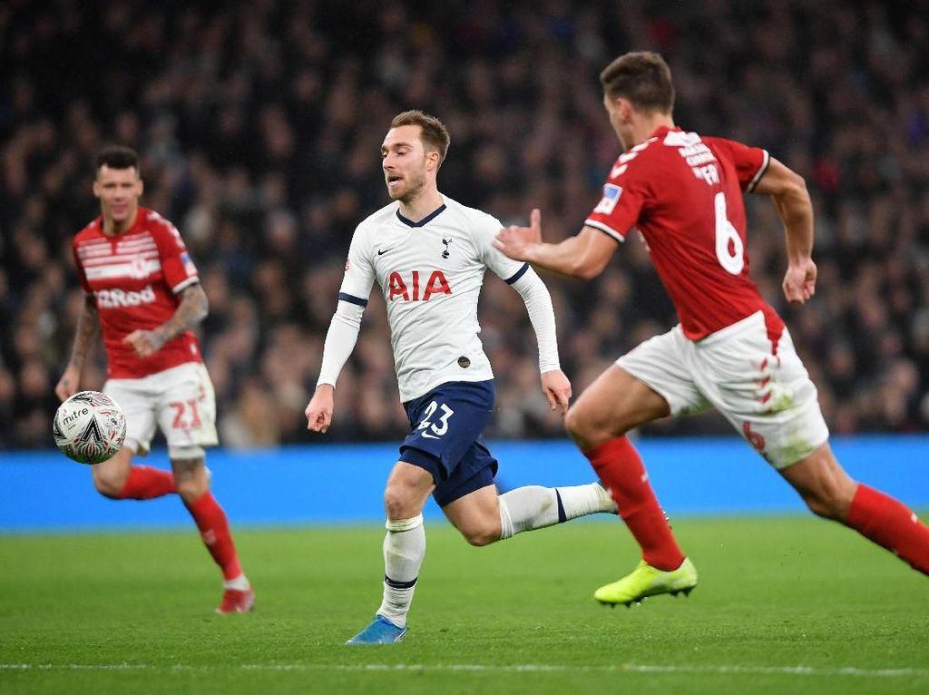Tottenham Vs Middlesbrough: Penampilan Terakhir Eriksen bersama Spurs?