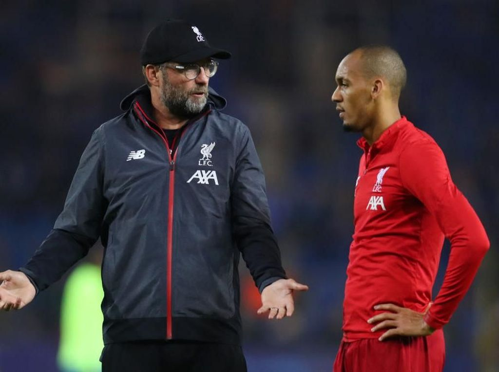 Liverpool Vs MU: Klopp Siap Mainkan Fabinho?