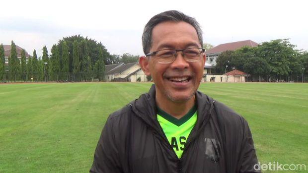 Aji Santoso, pelatih Persebaya Surabaya