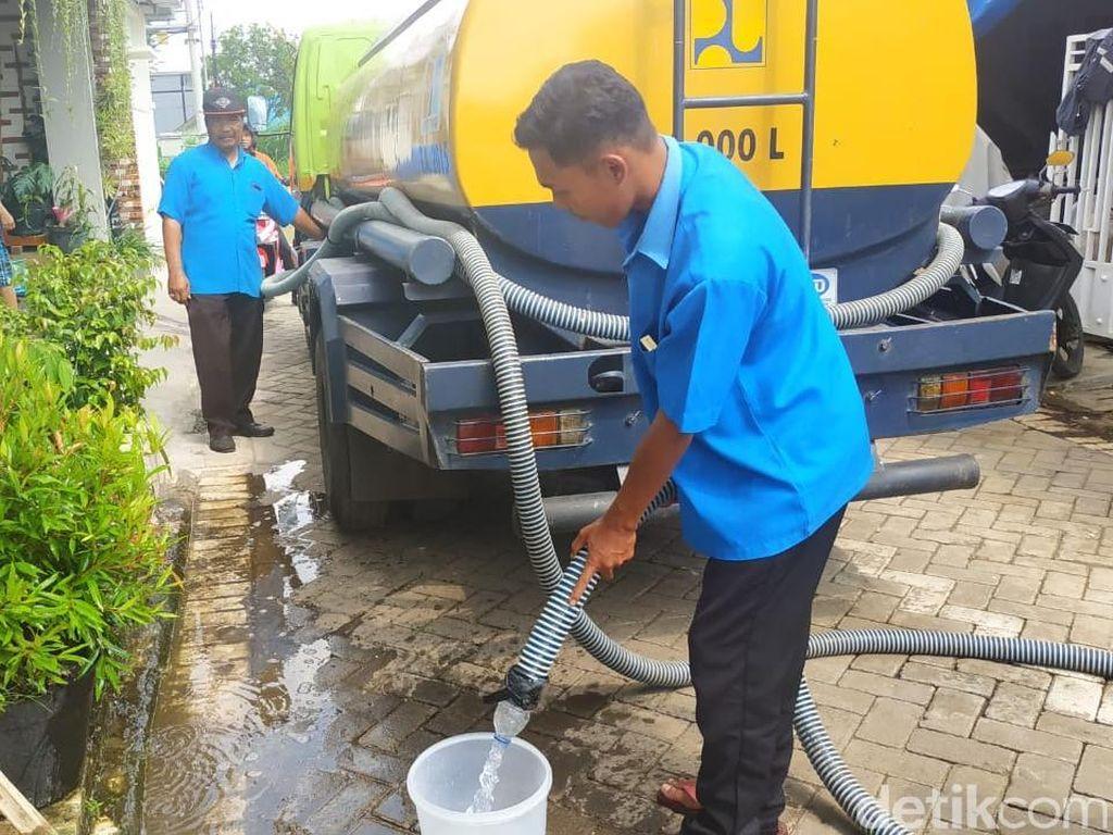Sambungan Pipa PDAM Kota Malang Bocor, Ribuan Pelanggan Krisis Air