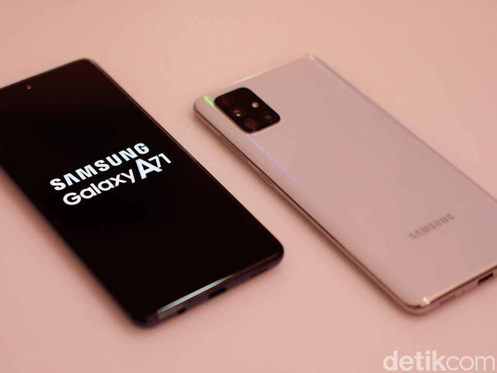 Tentang Samsung Galaxy A71 yang Perlu Kamu Tahu