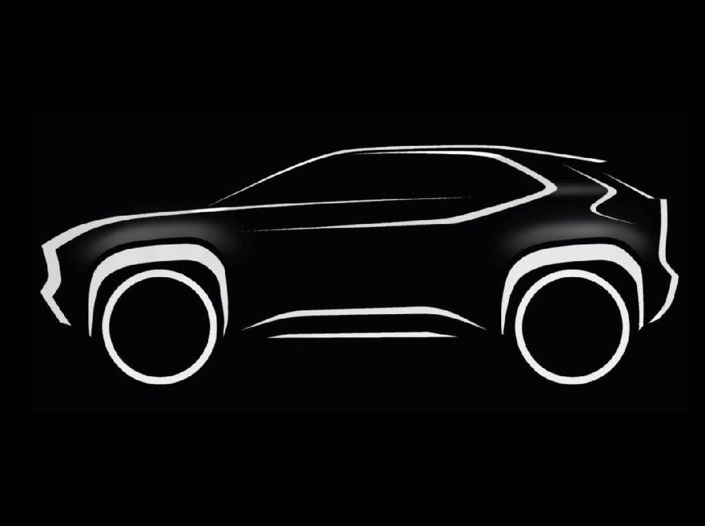 Toyota Sulap Yaris Jadi Mobil SUV?