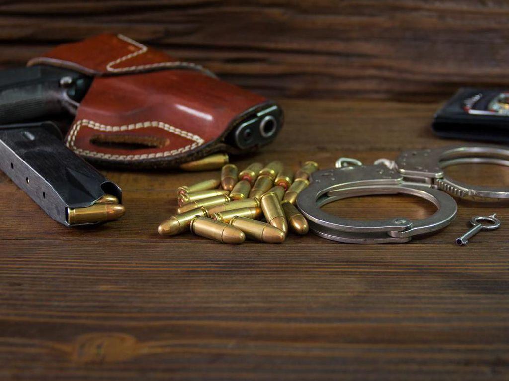Brigadir AF yang Todongkan Pistol ke Kapolsek Buat Onar di Tahlilan Warga