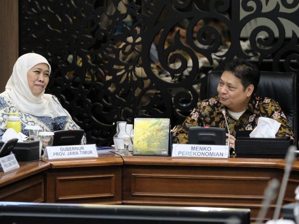 Gercep Gubernur Khofifah Gandeng Kementerian Realisasi Perpres 80/2019