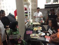 Santap Malam Terakhir Hakim Jamaluddin Bersama Zuraida Hanum