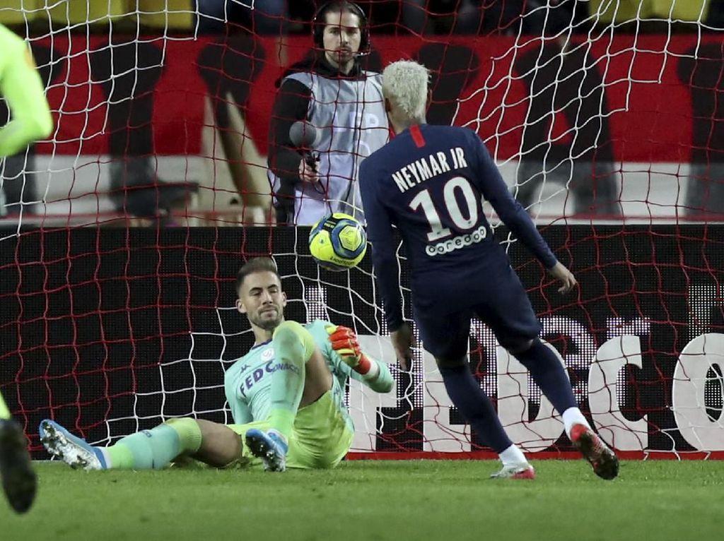 Mbappe-Neymar Cetak Gol, PSG Bungkam Monaco 4-1