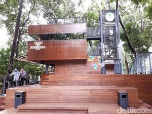 Arborea Cafe: Ngemil Pisang Goreng Plus Ngopi Mandailing di Tengah Hutan