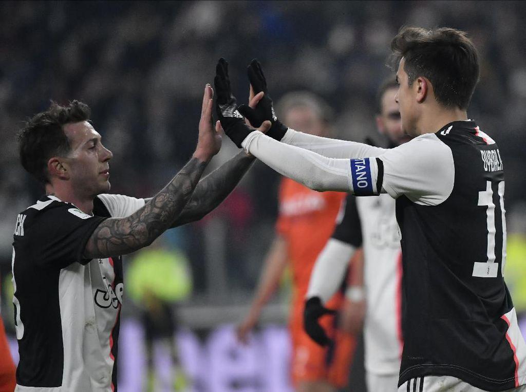 Juventus ke Perempatfinal Coppa Italia Usai Hantam Udinese 4-0