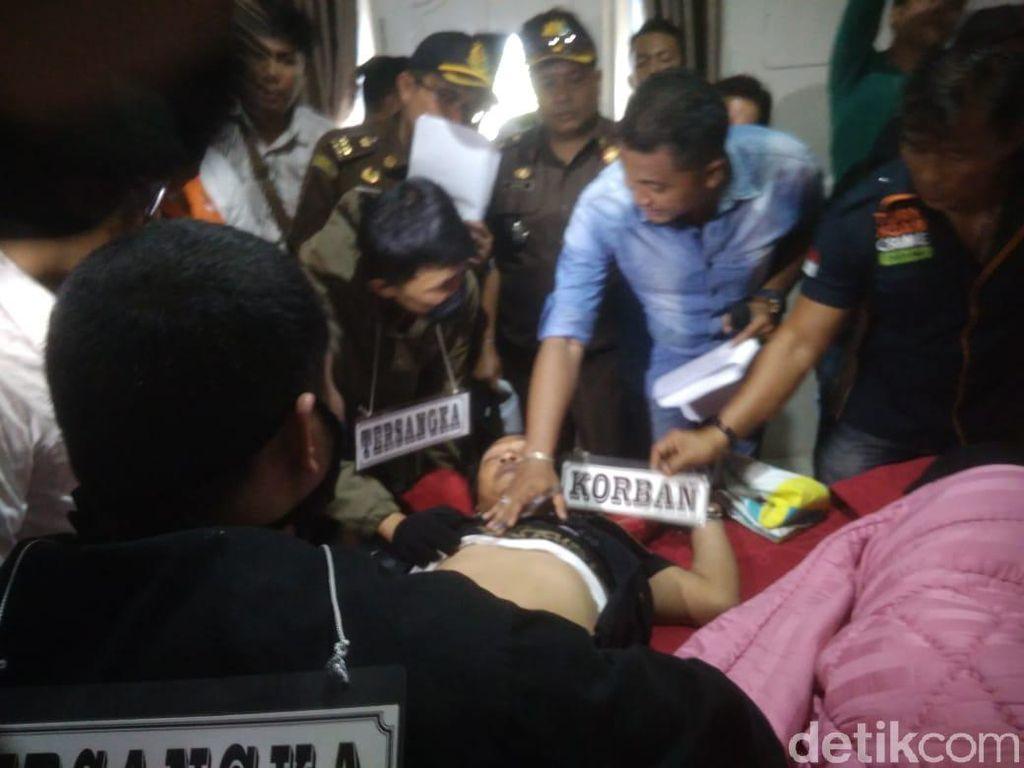 Hakim Jamaluddin Tewas Dibekap, Mobilnya Ditabrakkan ke Pohon Sawit
