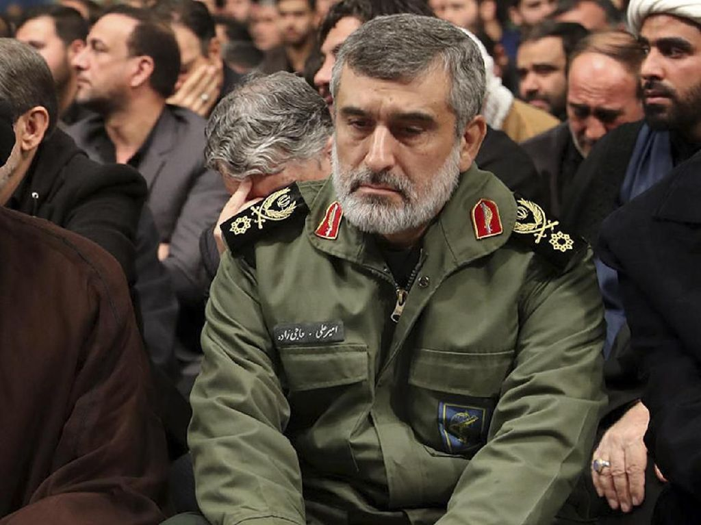 Komandan Iran Salahkan AS Atas Salah Tembak Pesawat Sipil Ukraina