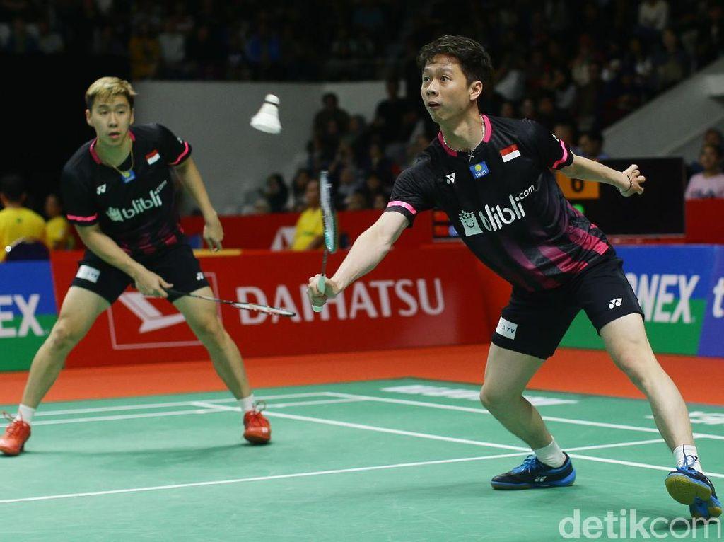 Kevin/Marcus Pantang Remehkan Pasangan Muda Malaysia di Perempatfinal