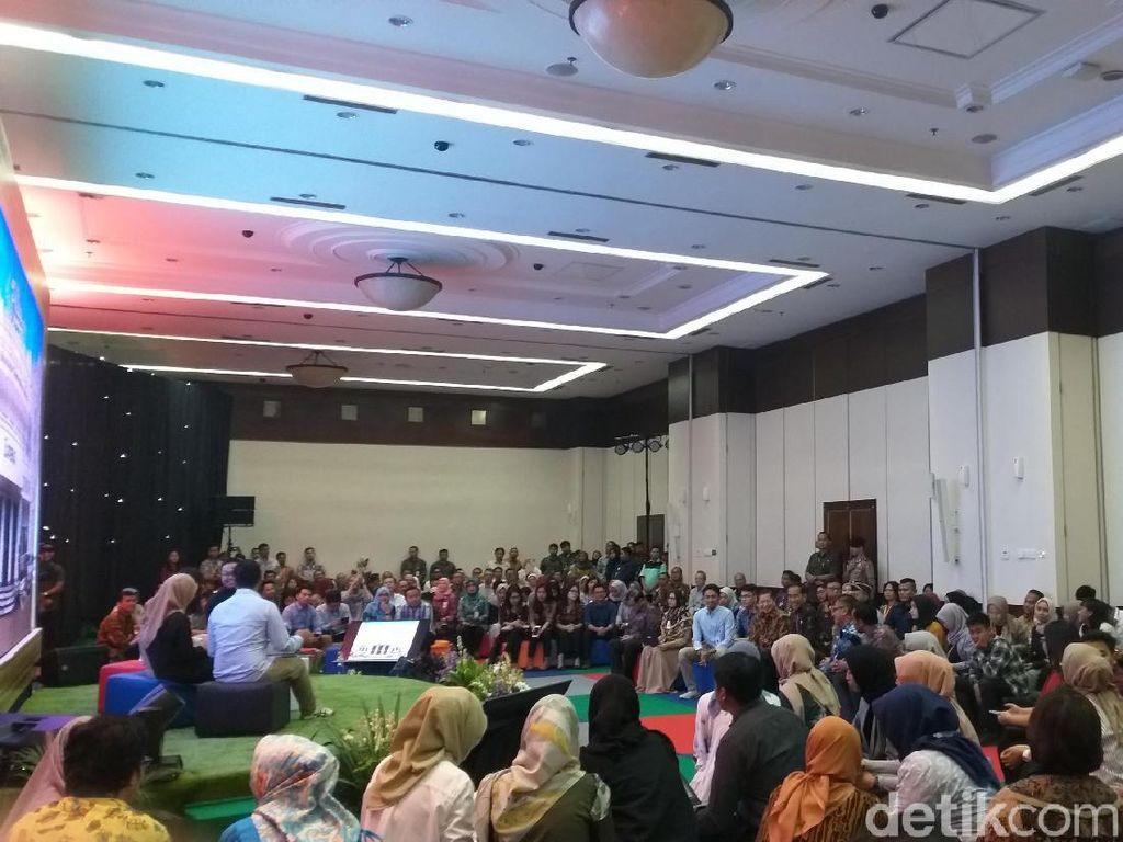 Jokowi Tinjau Penerapan Flexi Work di Kantor Bappenas