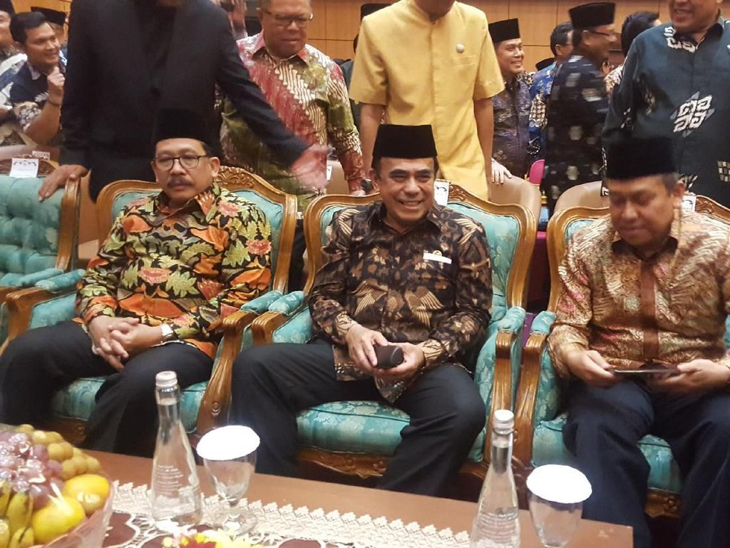 Kemenag Gelar Tasyakuran, Anies Hingga Gubernur Riau Hadir