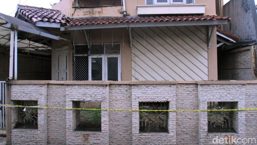 Ini Rumah Kosong Tempat Penemuan Kerangka Manusia di Bandung