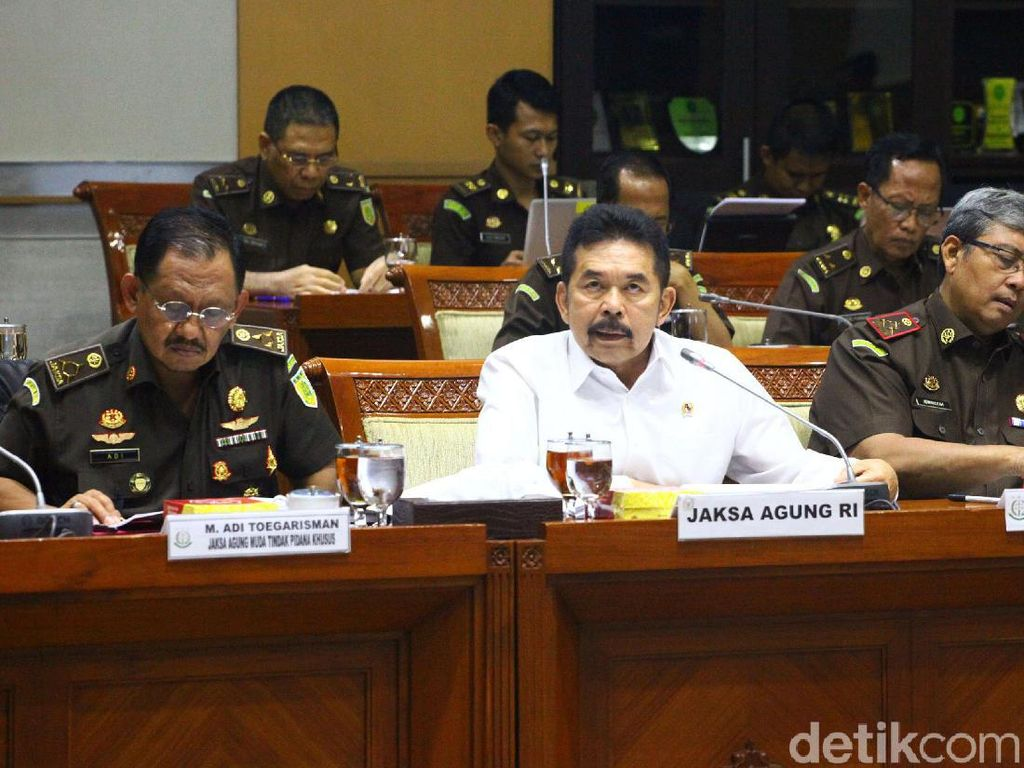 Raker Komisi III, Jaksa Agung Ungkap Progres Penanganan Kasus HAM