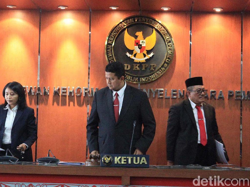 DKPP Warning Daniel, Mau Jadi Anggota KPU Nabire atau Tetap PNS
