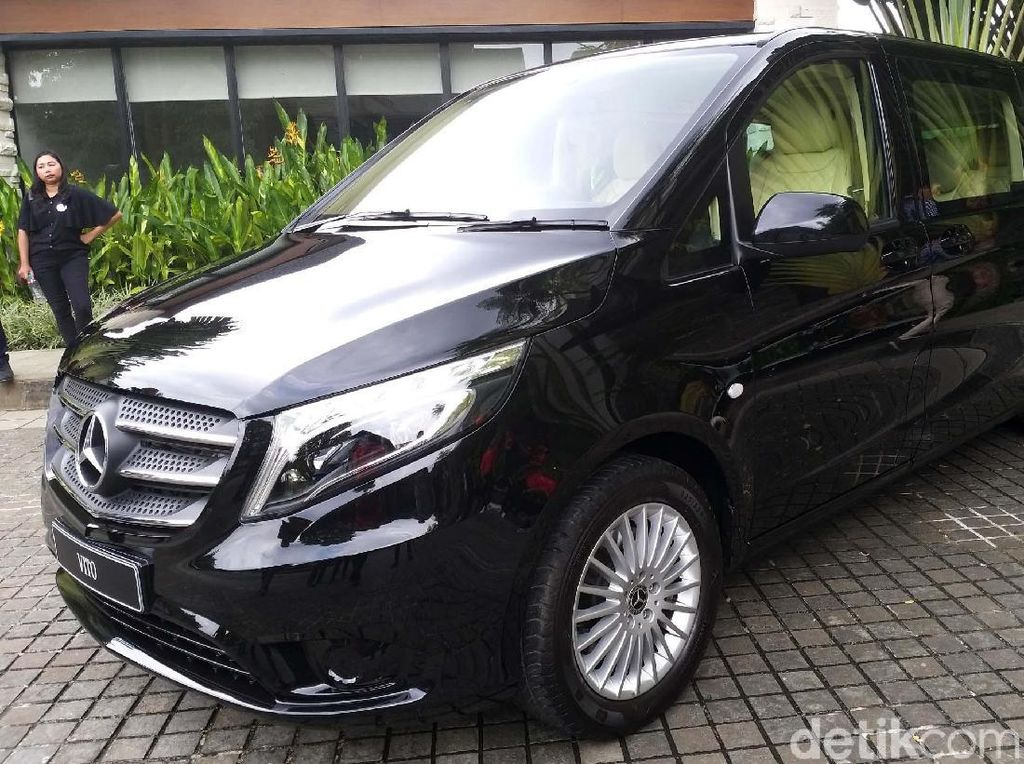 Intip Spesifikasi Van Mewah Rp 900 Jutaan, Mercedes-Benz Vito
