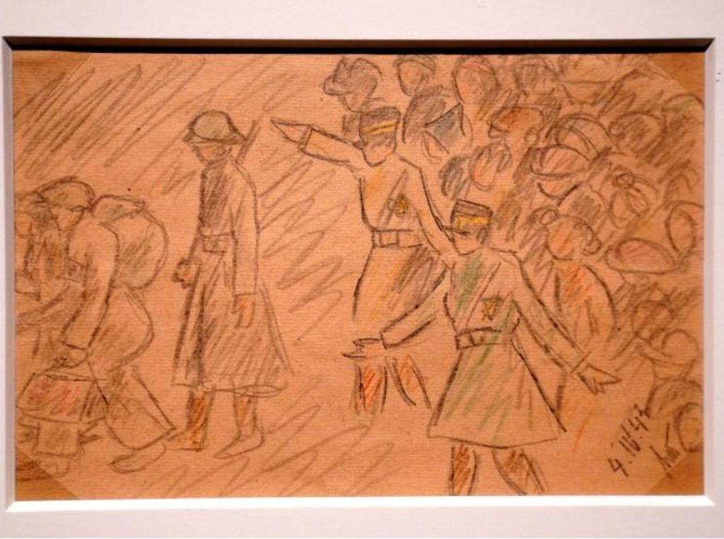 Seram! Karya Seni Korban Holocaust Dipajang di New York