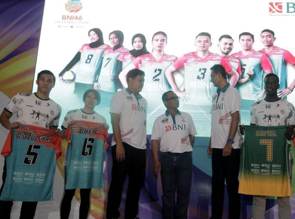 Tim Voli Jakarta BNI 46 Siap Bertarung di Proliga 2020