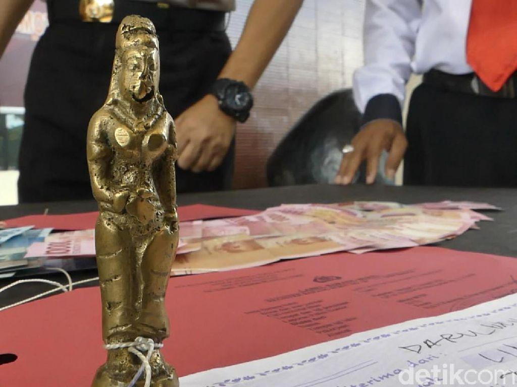 Modal Patung Dewi, Pria Ini Ngaku Bisa Gandakan Uang Rp 5 M