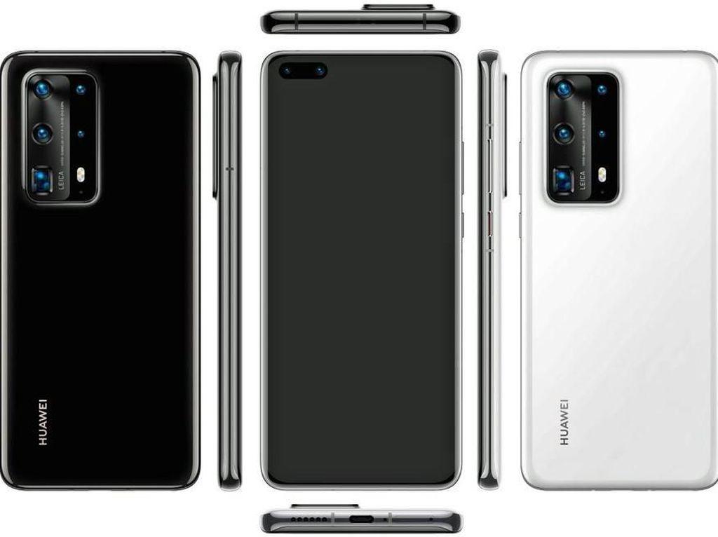 Huawei Beberkan Terobosan Teknologi di P40 Pro