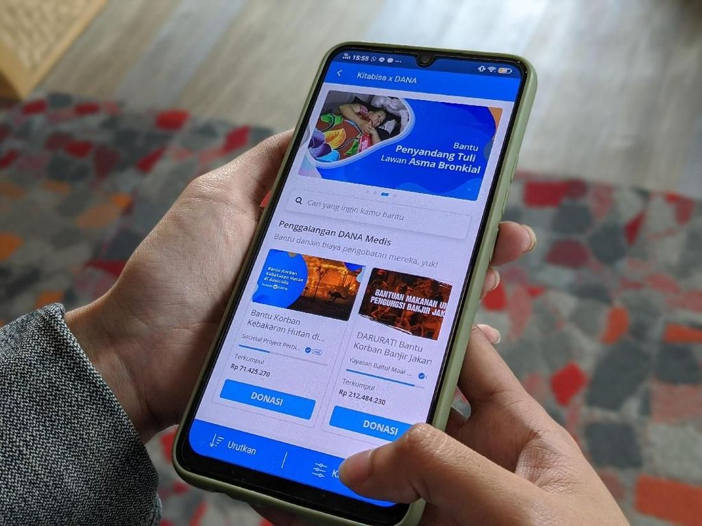 Pengguna DANA Sentuh 35 Juta Orang di Akhir 2019