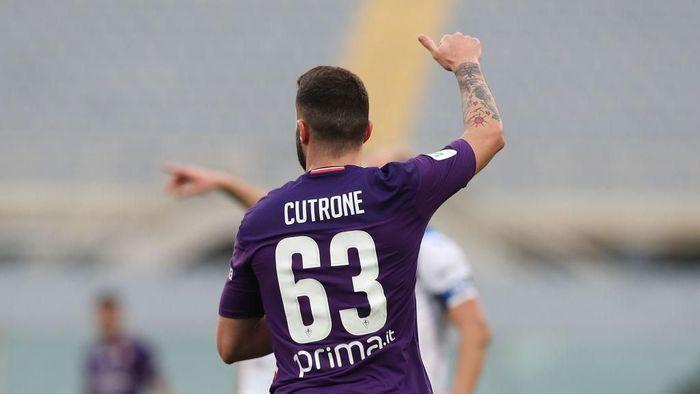 Patrick Cutrone ingin memberikan yang terbaik untuk Fiorentina (Foto: Gabriele Maltinti/Getty Images)