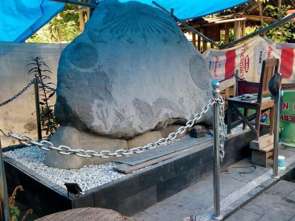 Warga Ingin Prasasti Keraton Agung Sejagat Purworejo Dipindah
