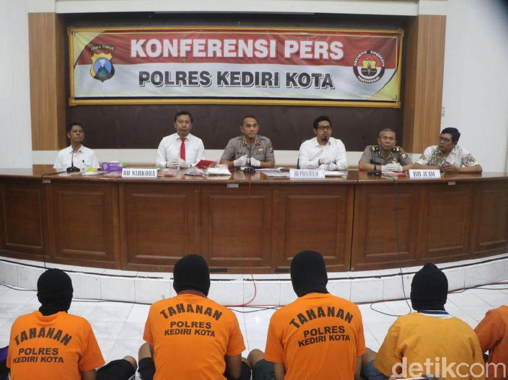 Polisi Kota Kediri Ungkap Layanan Panti Pijat Plus-plus