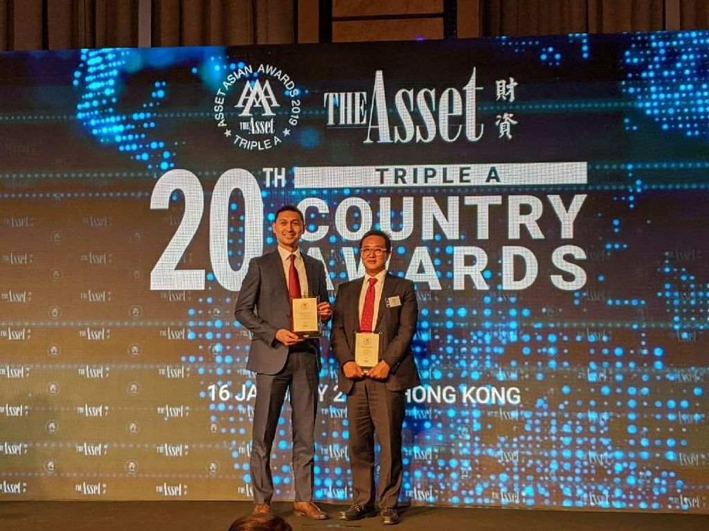 Bank BRI Raih 2 Penghargaan Internasional Triple A Country Awards
