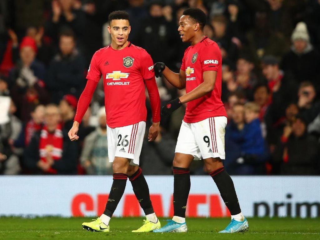 Statistik: Trisula Man United Lebih Tajam Dibanding Trio Liverpool