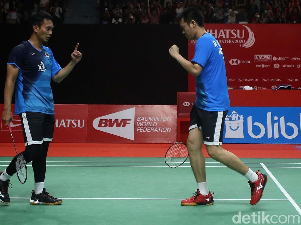 BWF World Tour Finals 2020: Indonesia Sisakan Ahsan/Hendra di Semifinal