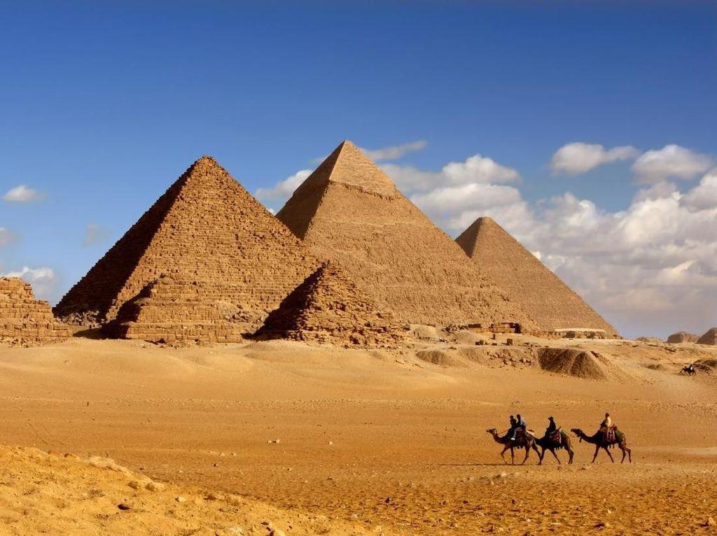 Ternyata Ini Toh Dalamnya Piramida Giza