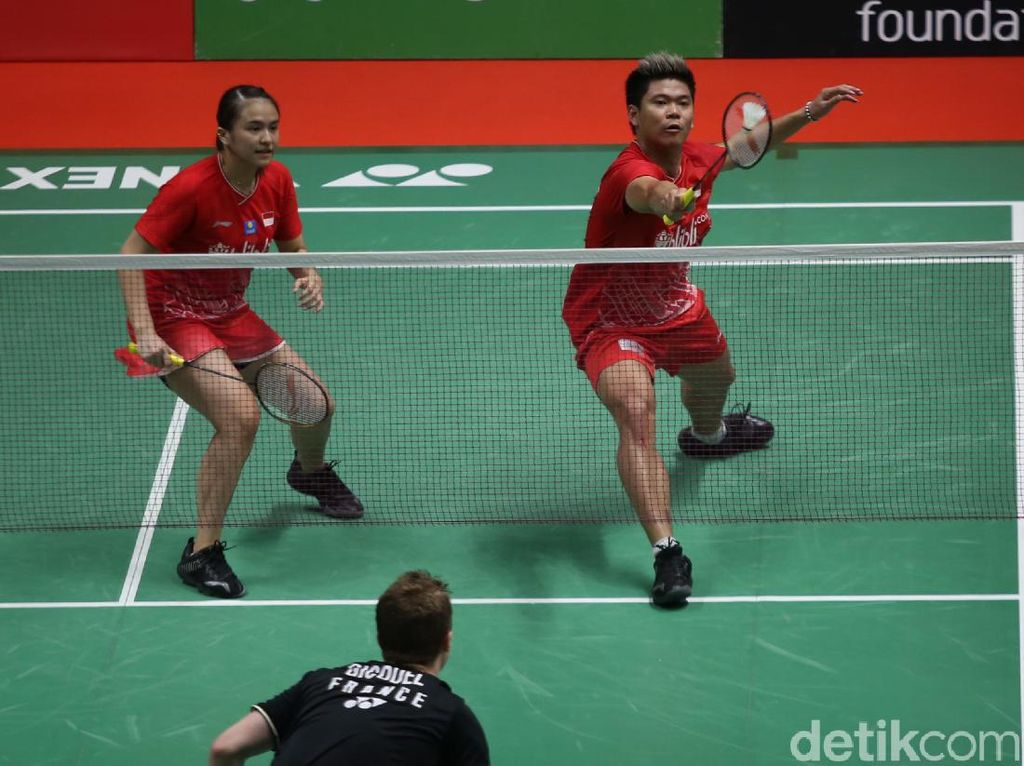 Praveen/Melati Dikalahkan Nonunggulan di Perempatfinal Daihatsu Indonesia Masters