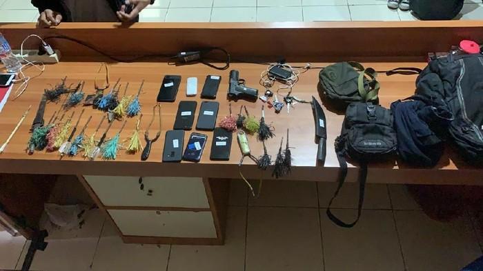 Bawa Busur-Airsoft Gun, 5 Mahasiswa Unismuh Makassar Ditangkap Polisi