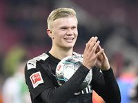Dortmund Vs Augsburg: Haaland Hat-trick, Die Borussen Menang 5-3