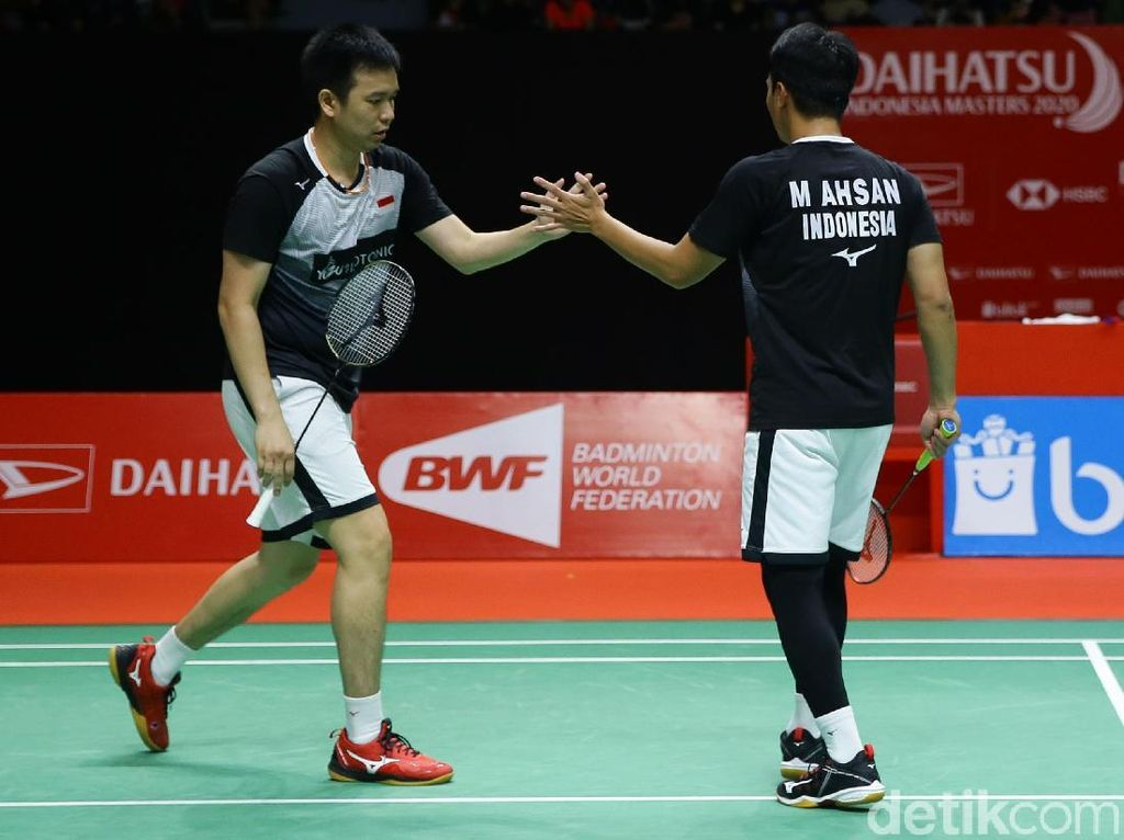 Hasil Toyota Thailand Open 2021: Hendra/Ahsan Tumbang di Semifinal