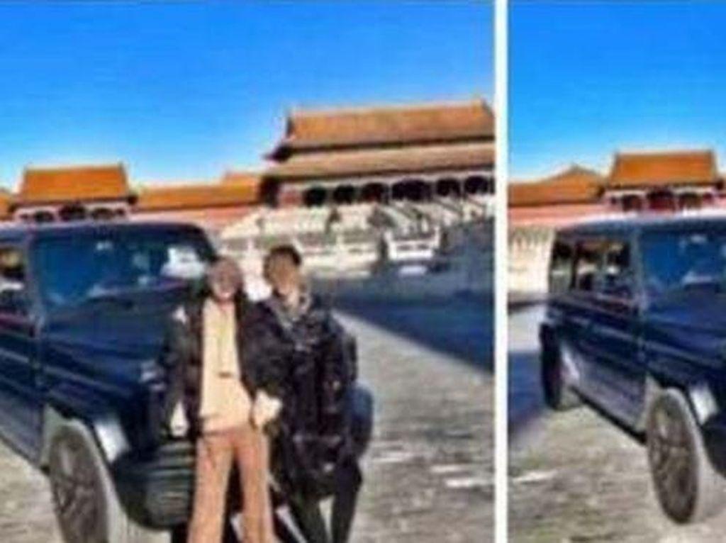 Warga China Marah, Ada Mobil Masuk ke Kota Terlarang