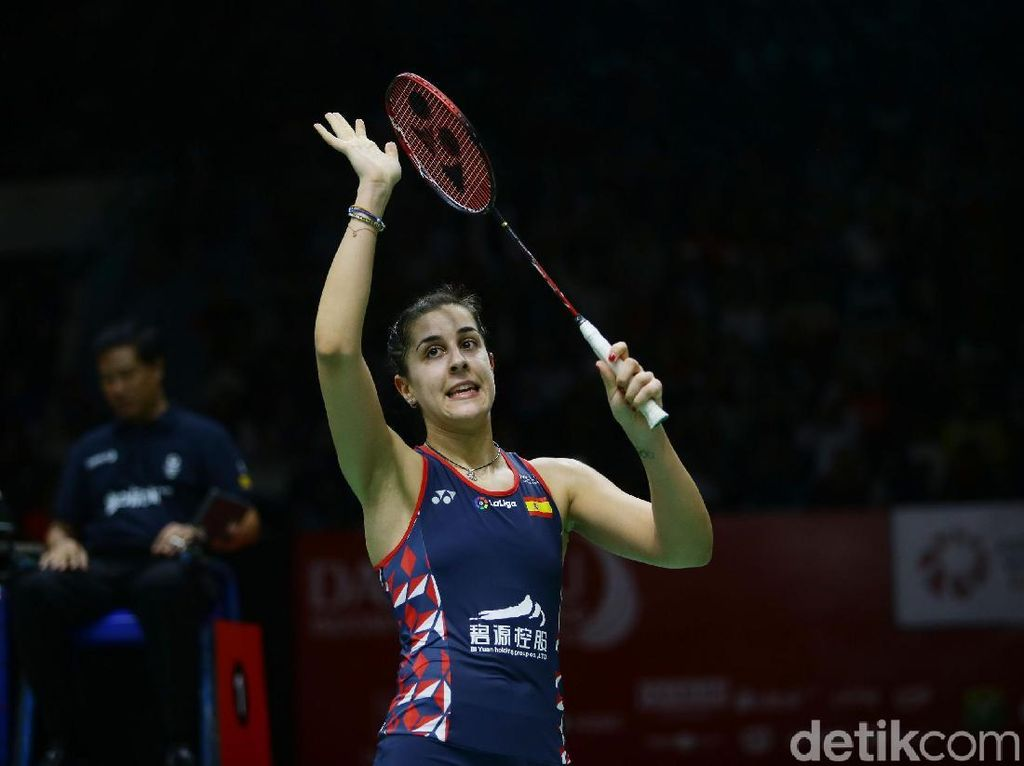 Penebusan Carolina Marin di Final Indonesia Masters 2020