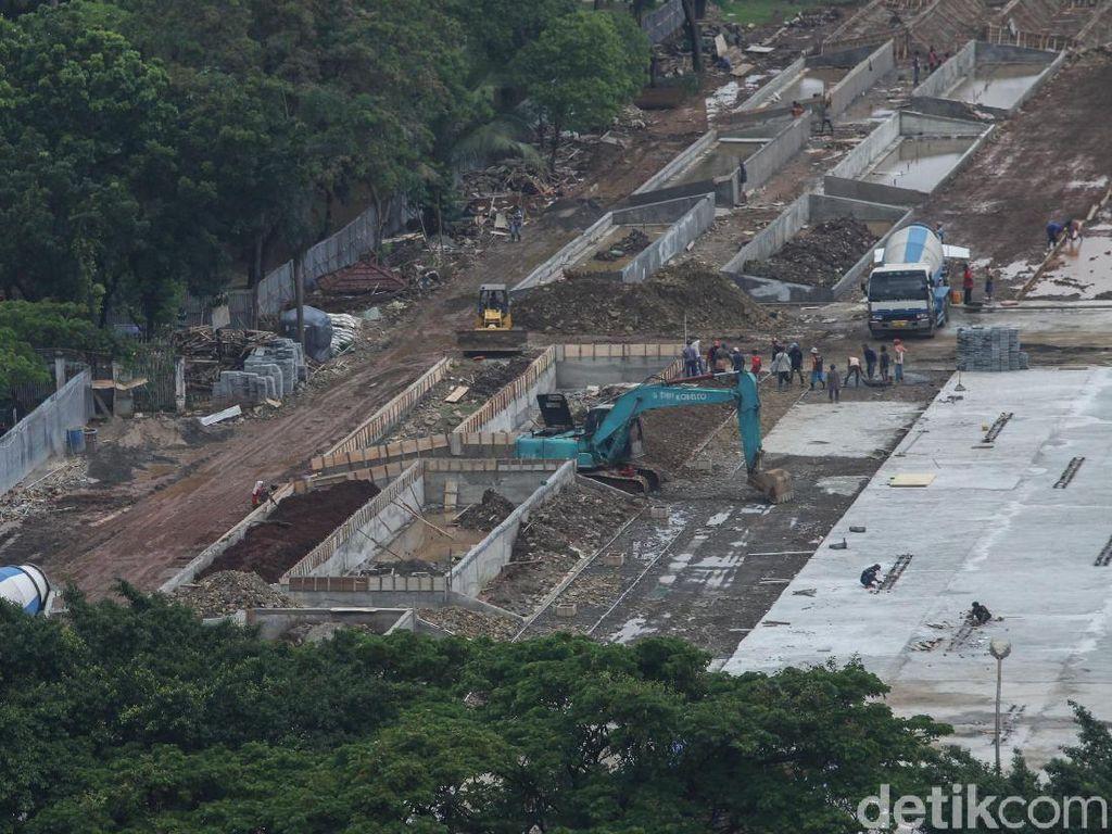 Monas Direvitalisasi, Parkir IRTI dan Lenggang Jakarta Tetap Ada