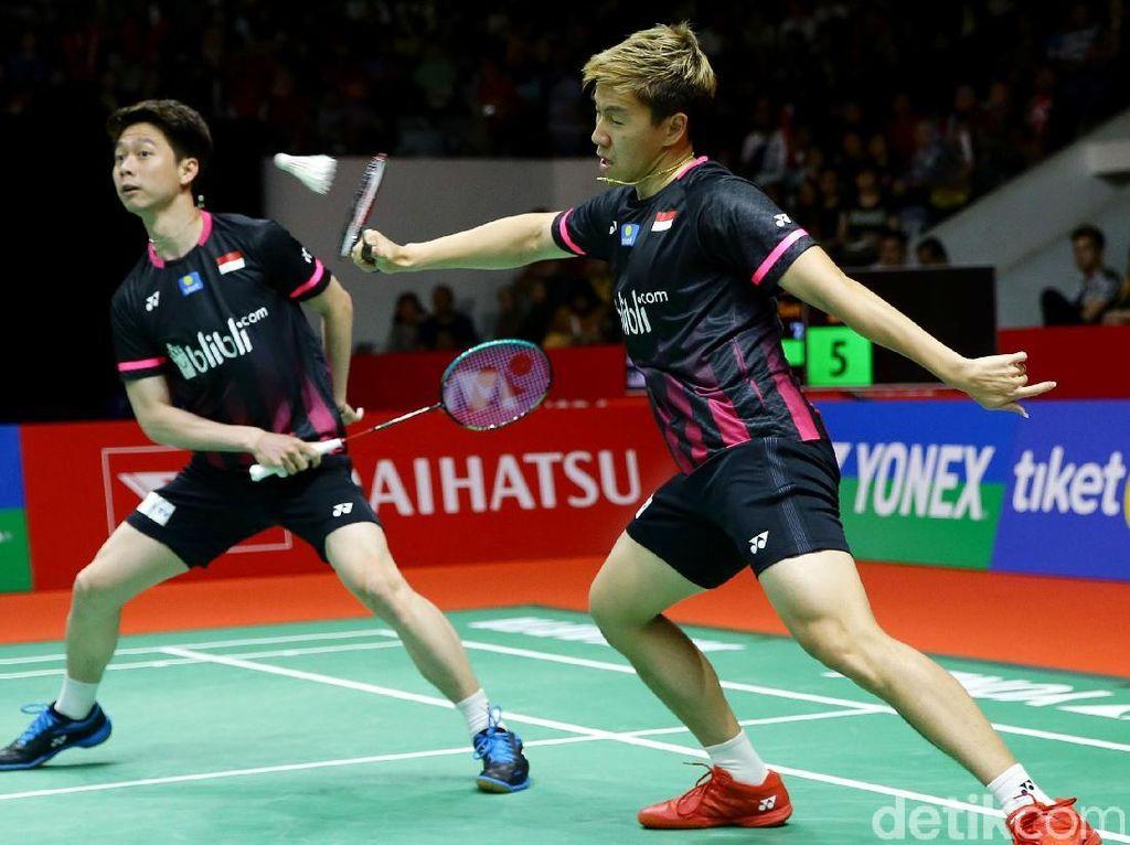 All Indonesia Final Terwujud di Partai Ganda Putra