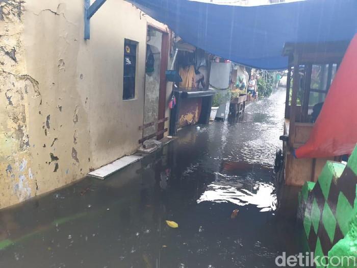Banjir di Jakarta Barat (Foto: detikcom)