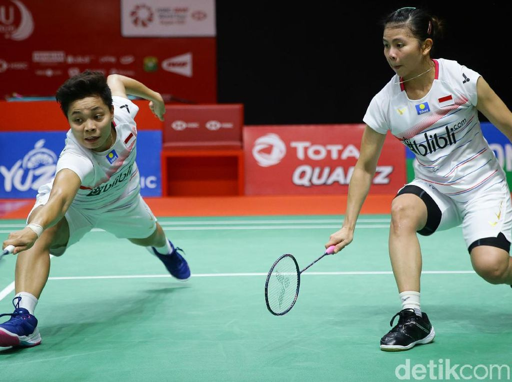 PBSI Home Tournament: Apriyani Rahayu Terpaksa Ganti Partner