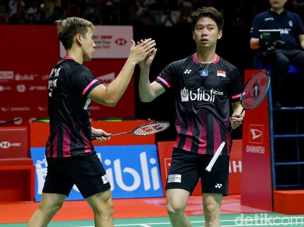 Kevin/Marcus Menang, Tercipta All Indonesian Finals Daihatsu Indonesia Masters