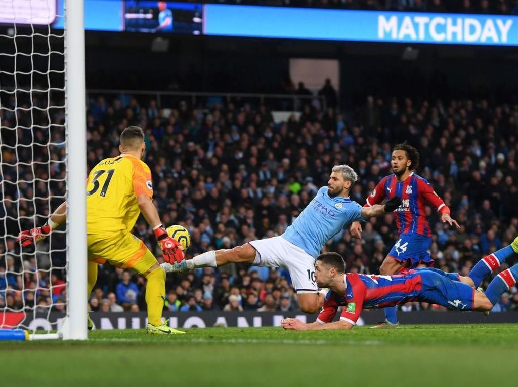 Man City Vs Crystal Palace: The Citizens Ditahan The Eagles 2-2
