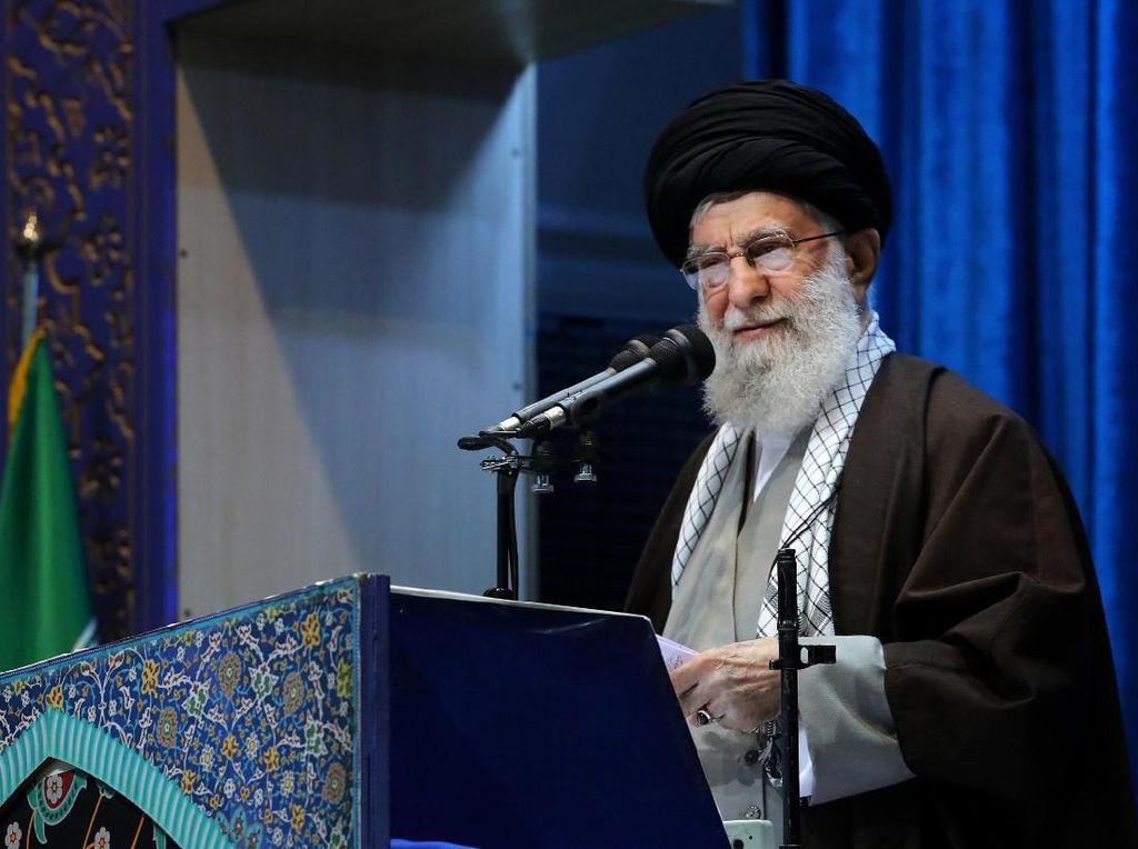 Khamenei Sebut Iran Bisa Lakukan Pengayaan Uranium hingga 60 Persen